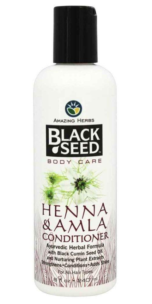Amazing Herbs Black Seed Henna and Amla Conditioner - 8 Oz