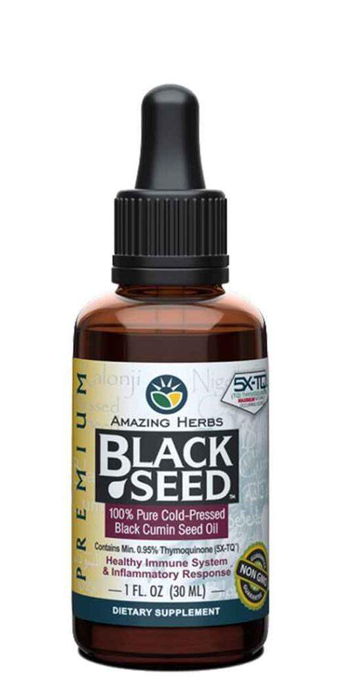 Amazing Herbs Premium Black Seed Oil - 1 Oz