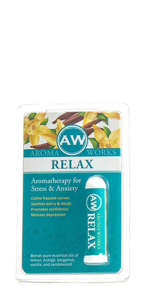 Amazing Solutions Aromaworks Aromatherapy Relax Pocket Inhaler - 125 Oz