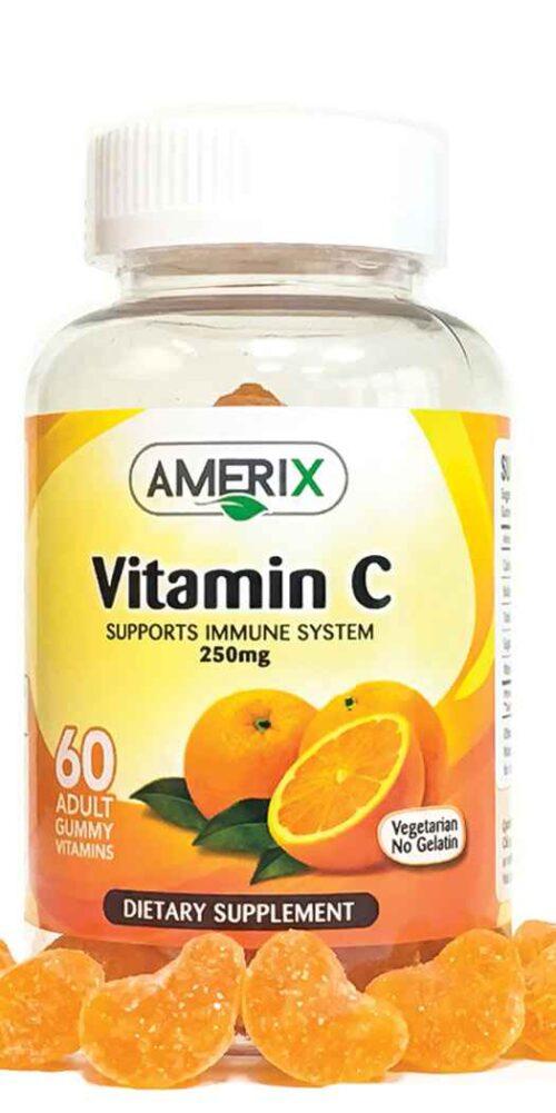 Amerix Gummies Vitamin C 250 mg - 60 Vegan Gummies