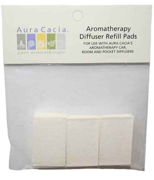 Aura Cacia Aromatherapy Room Diffuser Refill Pads - 10 Pack
