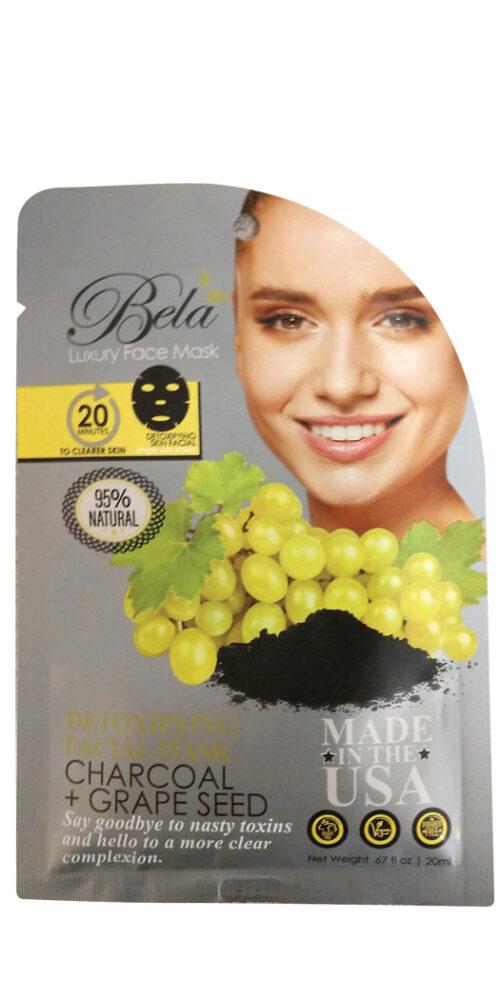 Bela Luxury Face Mask Sheet Detoxifying Formula - 1 Mask