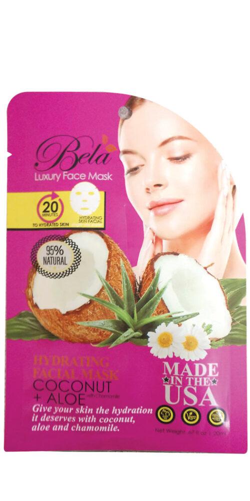 Bela Luxury Face Mask Sheet Hydrating Formula - 1 Mask