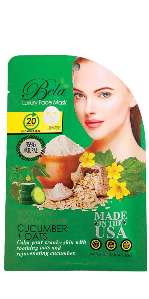 Bela Luxury Face Mask Sheet Soothing Formula - 1 Mask