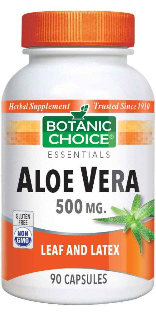 Botanic Choice Aloe Vera Supplement 500 mg - 90 Capsules
