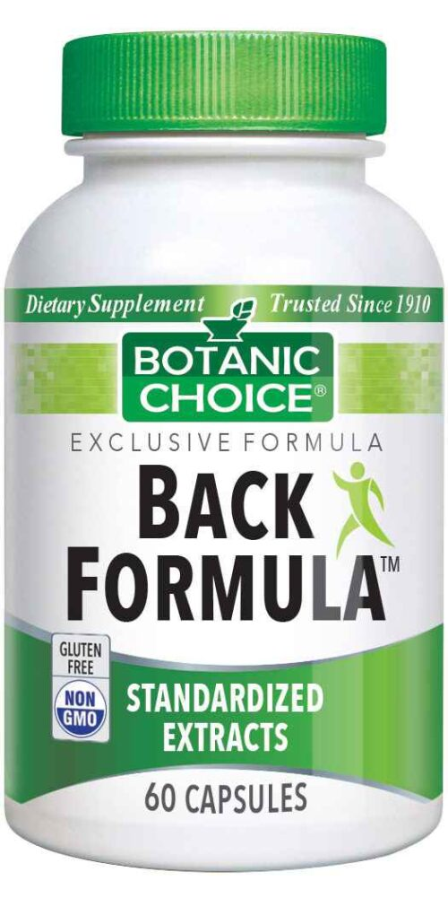 Botanic Choice Back Formula™ - Joint Support Supplement - 60 Capsules