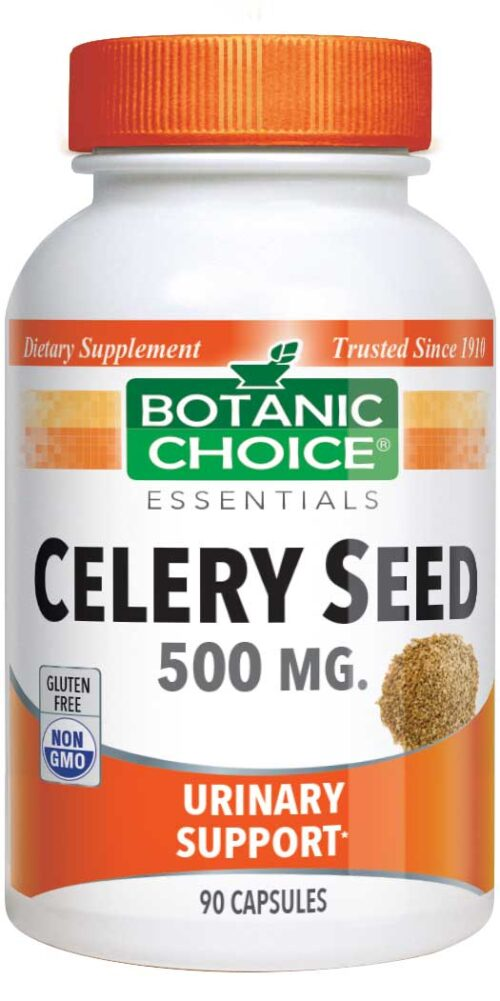 Botanic Choice Celery Seed - Urinary Support Supplement - 90 Capsules