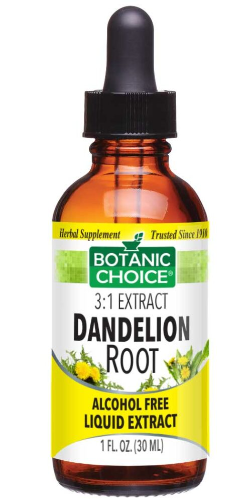 Botanic Choice Dandelion Root Liquid Extract - Digestive Support Supplement - 1 Oz