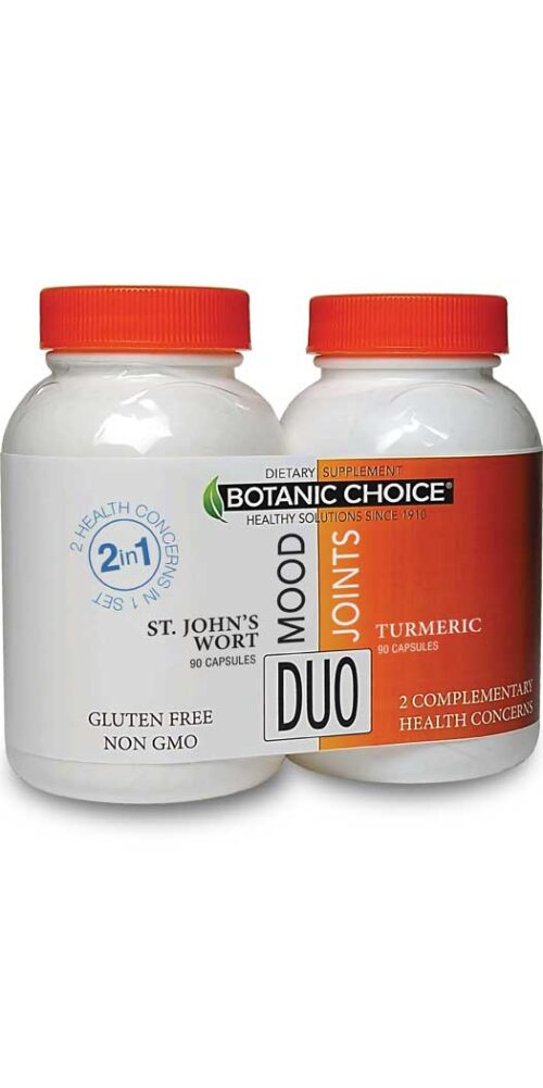 Botanic Choice Mood & Joints Duo - 1 Month
