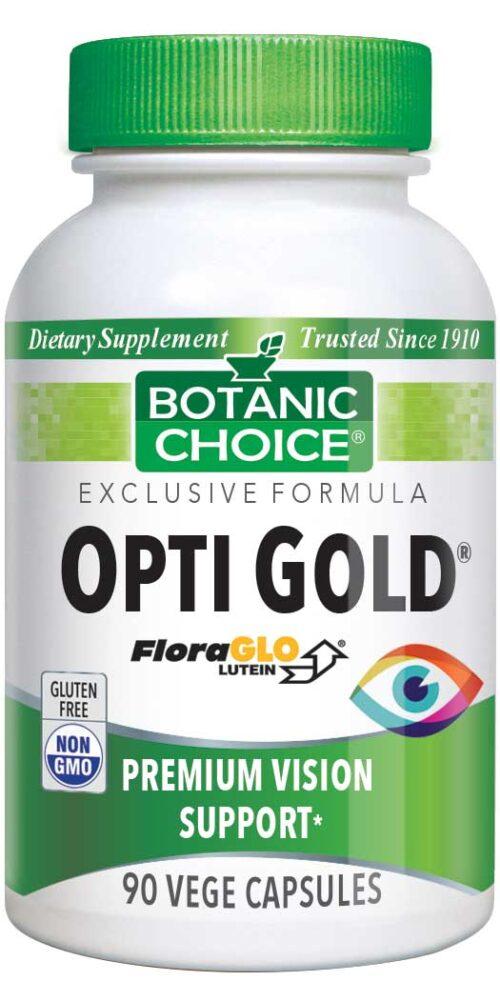 Botanic Choice Opti Gold® Vision & Eye Health Supplement - 90 Vegetarian Capsules