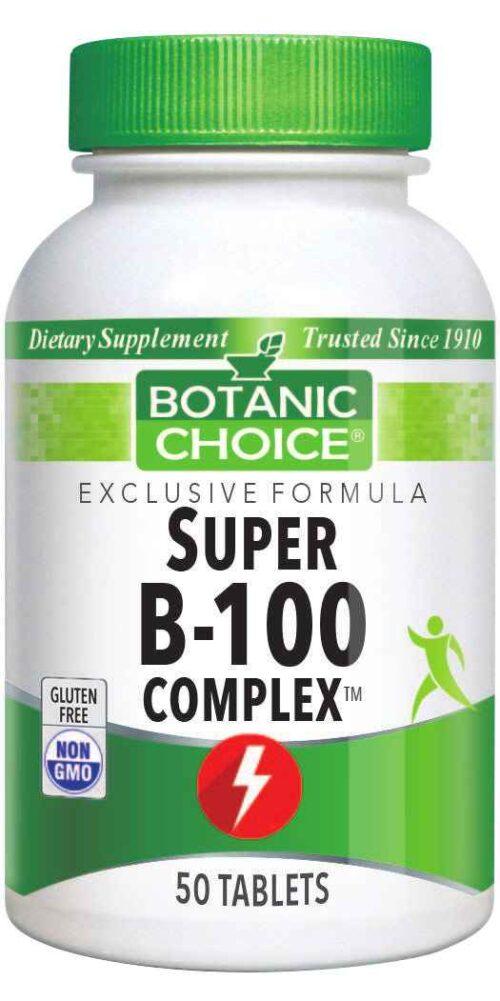 Botanic Choice Super B-100 Complex™ - 50 Tablets