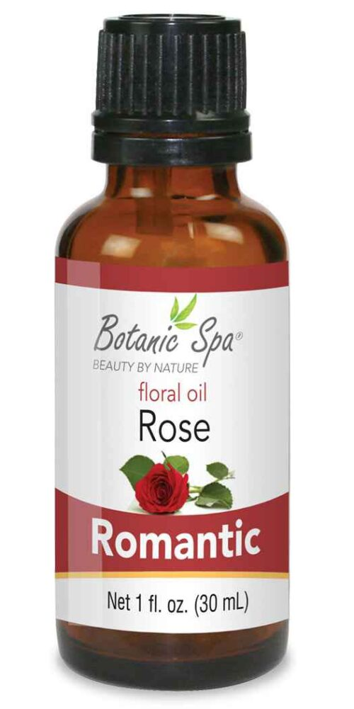 Botanic Spa Rose Aromatherapy Romantic Floral Oil - 1 Oz