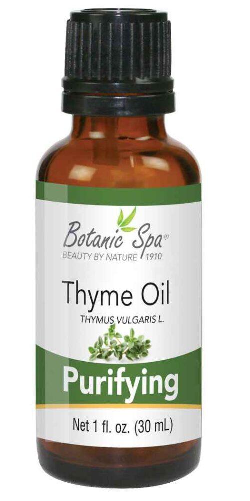 Botanic Spa Thyme Essential Aromatherapy and Body Oil - 1 Oz