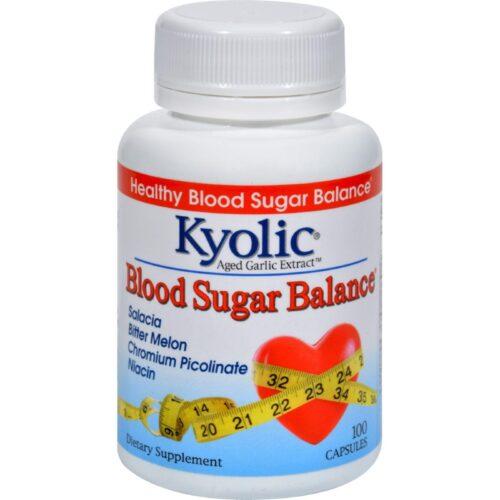 HG1085315 Aged Garlic Extract Blood Sugar Balance - 100 Capsules