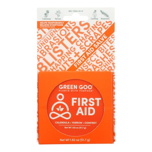 HG2448926 1.82 oz Homeopathic Large Tin First Aid - Case of 6