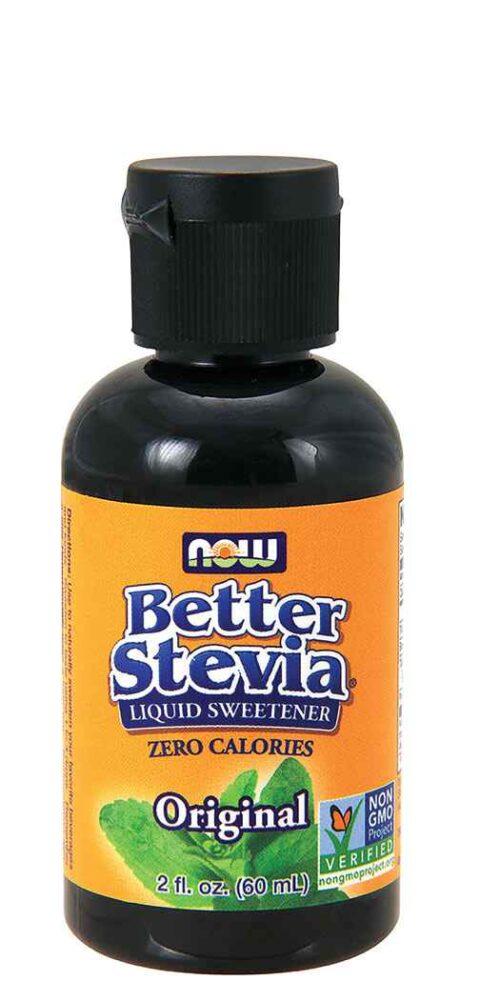 Now Foods BetterStevia® Liquid, Original - 2 Oz