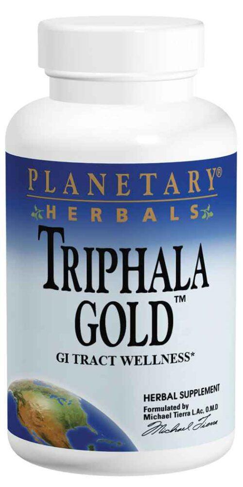 Planetary Herbals Triphala Gold™ 550 mg - Veg Capsules