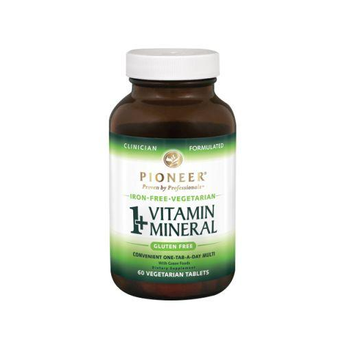 1 + Vitamin Mineral Veg Iron Free 60 ct by Pioneer Nutritionals