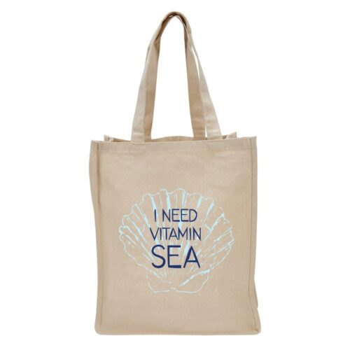 100840 Vitamin Sea Tote Bag