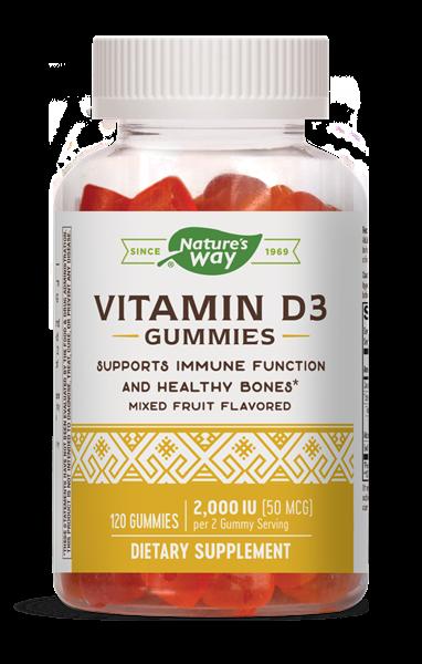 1536089 Vitamin D3 Gummies Tablet - 120 Count - 12 Per Case