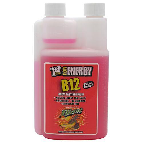 1st Step Liquid B-12 Tropical 16 oz by High Performance Fitness, Inc.