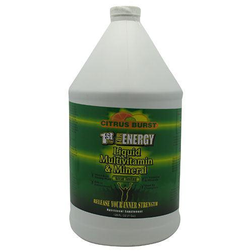 1st Step Liquid Vitamin & mineral Citrus 1 Gal by High Performance Fitness, Inc.