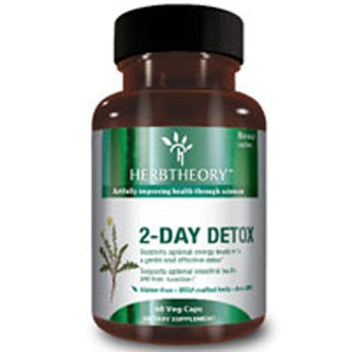 2-Day Detox 60 Vcaps by Herb Theory