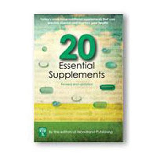20 Essential Supplements 228 pgs by Woodland Publishing