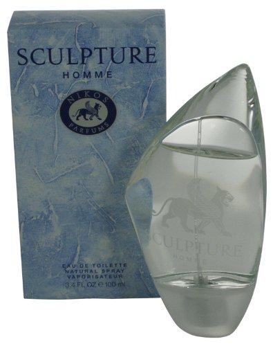 20000382 3.3 oz Sculpture Eau De Toilette Spray for Men