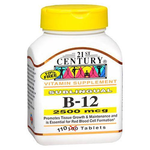 21st Century B12 Tablets Sublingual 110 Tabs by 21st Century