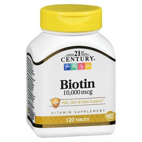 21st Century Biotin 120 Tabs by 21st Century