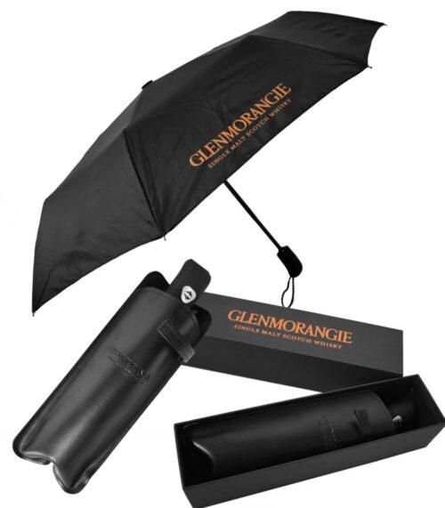 2361CGB -BLACK BOX The Luxe Umbrella, Black