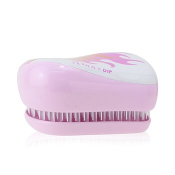 256504 Compact Styler on-the-go Detangling Hair Brush - No. Skinny Dip Flames