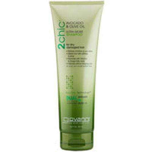 2Chic Ultra-Moist Shampoo Avocado and Olive Oil 8.5 OZ by Giovanni Cosmetics