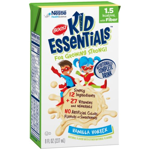 33552601 8 oz Vanilla Boost Kid Essentials 1.5 with Fiber Oral Supplement & Tube Feed Formula