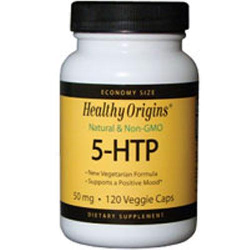5-HTP 120 Caps by Healthy Origins