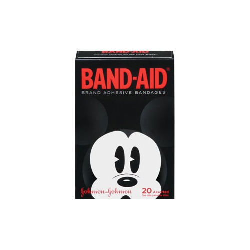 53110583400 Band-Aid Decorative Disney Mickey, Assorted 20 Count