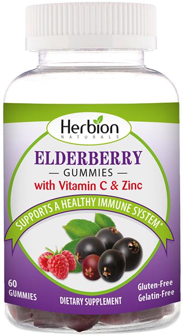 582781 Elderberry Gummies with Zinc & Vitamin C, 60 Count