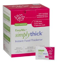 75672601 6 g Nectar Consistency Unflavored SimplyThick Easy Mix Food & Beverage Thickener
