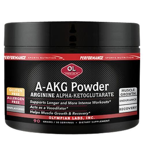 A-AKG Powder 90 g by Olympian Labs