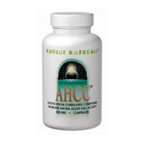 AHCC W/o Bioperine 60 Caps by Source Naturals