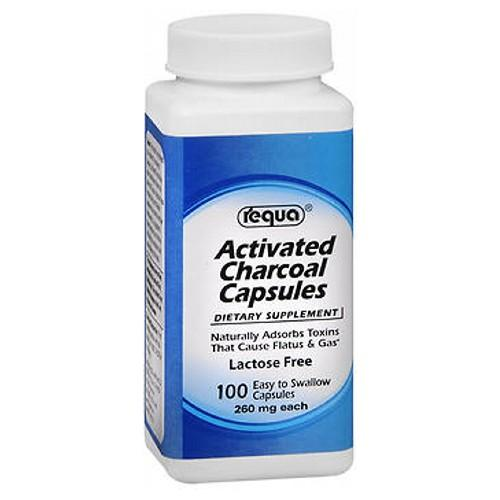 Activated Charcoal 100 Tabs by Requa