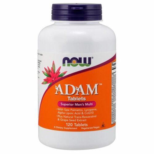 Adam Men's Multiple Vitamin Superior 120 Tabs by Now Foods
