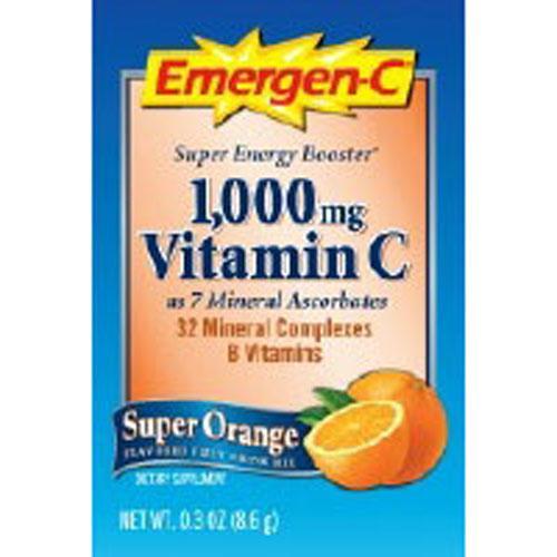 Alacer Emergen-C Super Orange 30 packets by Alacer