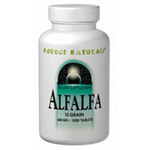 Alfalfa 10 Grain 250 Tabs by Source Naturals
