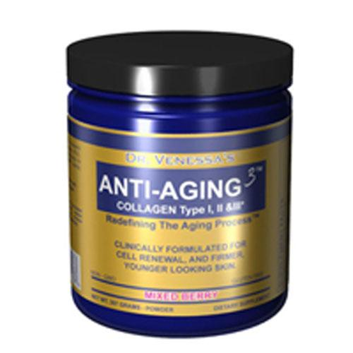 Anti Aging 3 Collagen Mixed Berry 300GM by Dr. Venessa's Formulas