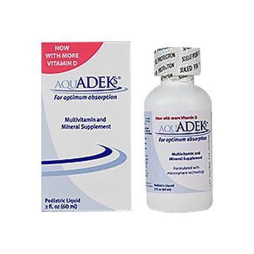 Aquadeks Pediatric Drops Multivitamin And Mineral Supplement 60 ml by Aquadeks