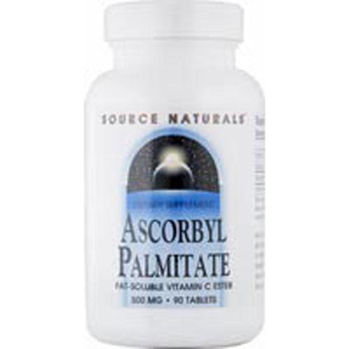 Ascorbyl Palmitate 90 Tabs by Source Naturals