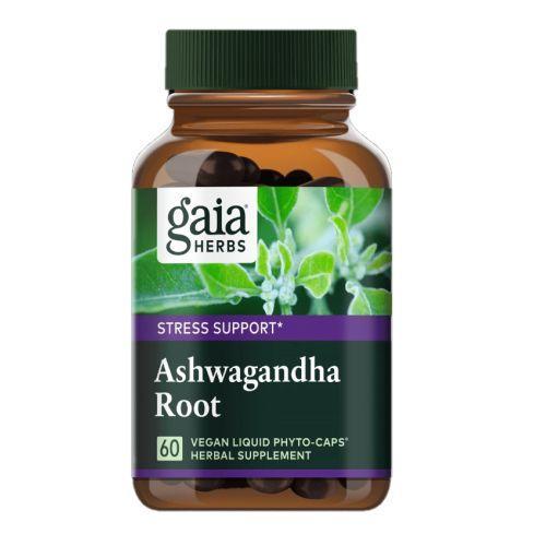 Ashwagandha Root 60 Caps by Gaia Herbs