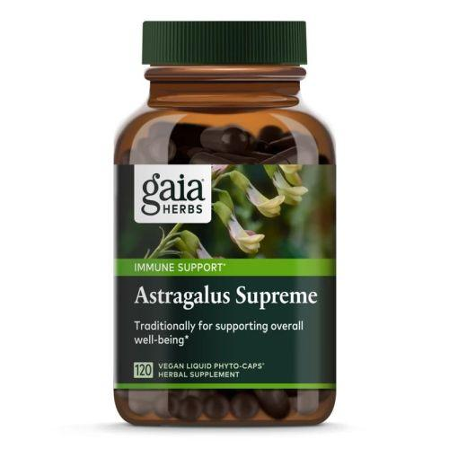 Astragalus Supreme 120 Count by Gaia Herbs